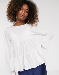 Ax Paris Tiered Swing Top White