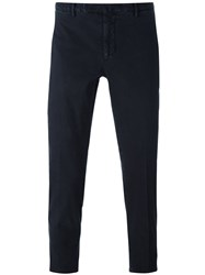 Incotex Skinny Fit Chinos Blue