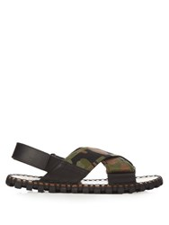 Valentino Crossover Camouflage Sandals Multi
