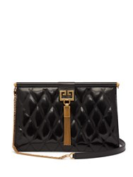 Givenchy Gem Quilted Leather Bag Black