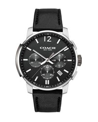 Coach 42Mm Bleecker Chronograph Watch Black
