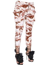 Dsquared Camo Printed Stretch Cotton Pants