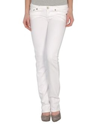 Maggie Denim Pants White