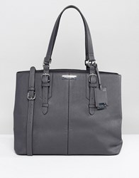 Carvela Ortha Tote Bag Dark Grey