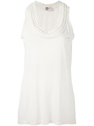 Lanvin Sleeveless Top Nude And Neutrals