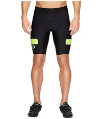 Pearl Izumi Quest Splice Shorts Black Screaming Yellow Men's Shorts