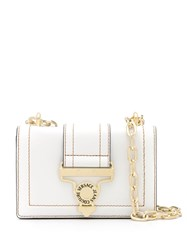 Versace Jeans Couture Fold Over Shoulder Bag White