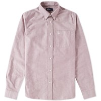 Fred Perry Classic Oxford Shirt Pink