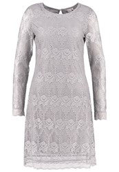Cream Lianna Summer Dress Clear Grey