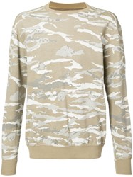 Mhi Maharishi Camouflage Top Men Cotton M Brown