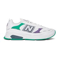 New Balance White X Racer Sneakers