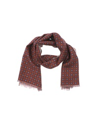 Lardini Oblong Scarves Brown