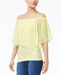 Thalia Sodi Convertible Off The Shoulder Top Only At Macy's Pear Passion
