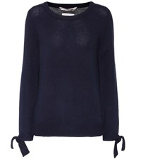 81 Hours Hannah Wool And Cashmere Sweater Blue