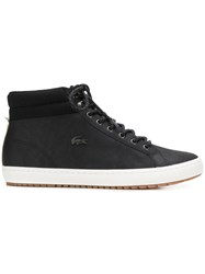 Lacoste Shearling Boots Black