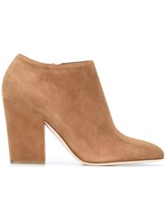 Sergio Rossi Ankle Length Boots Brown