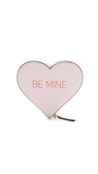 Rebecca Minkoff Be Mine Heart Pouch Pale Pink
