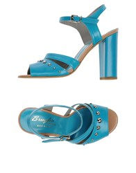 F.Lli Bruglia Footwear Sandals Women Sky Blue
