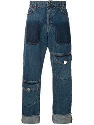 J.W.Anderson Jw Anderson Regular Length Jeans Blue