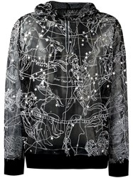 Ktz Constellation Transparent Hoodie Metallic
