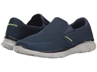 Skechers Equalizer Double Play Navy Men's Slip On Shoes