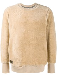 Wtaps Grizzly Lambswool Jumper Nude And Neutrals