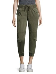 Hudson Solid Cropped Pants Infantry