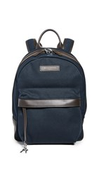 Want Les Essentiels Leon Backpack Navy Tobacco
