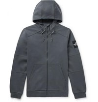 The North Face Fine 2 Cotton Jersey Zip Up Hoodie Gray