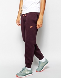 Nike Aw77 Cuff Sweatpants Red