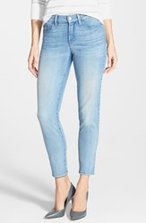 Petite Women's Nydj 'Clarissa' Stretch Skinny Ankle Jeans Manhattan Wash