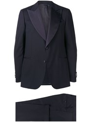 Dell'oglio Two Piece Dinner Suit Blue