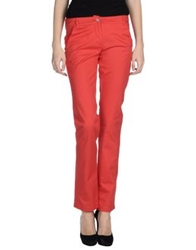 Caractere C24 Casual Pants Red
