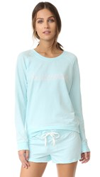 Honeydew Intimates Bridesmaid Sweatshirt Something Blue