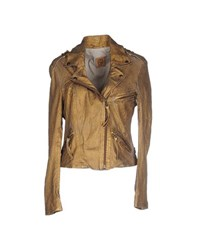 Ash Coats And Jackets Jackets Women Gold