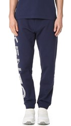 Kenzo Cotton Classic Molleton Sweatpants Navy