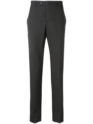 Massimo Piombo Mp Slim Fit Suit Trousers Grey