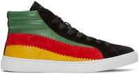 Paul Smith Multicolor Lynn High Top Sneakers