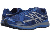 The North Face Ultra Tr Ii Limoges Blue Monument Grey Print Prior Season Running Shoes