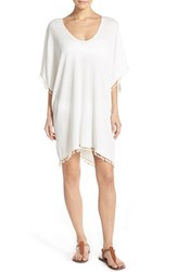 Women's Lucky Brand 'White Sands' Poncho Tunic