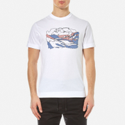 Garbstore Men's By Numbers T Shirt White