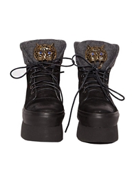 Pixie Market Tiger High Top Flatforms