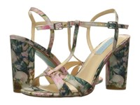 Blue By Betsey Johnson Luisa Floral High Heels Multi