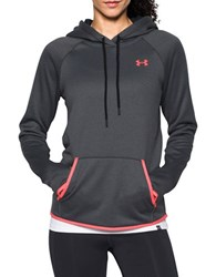 Under Armour Lightweight Textured Hoodie Carbon Heather