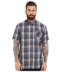 Rip Curl Floyd Long Sleeve Flannel Navy Men's Clothing