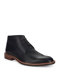 Ted Baker Torsdi 4 Leather Chukka Boots Black