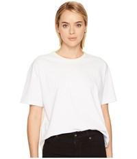 Levi's R Premium Made Crafted Boxy Tee Bright White Women's Clothing