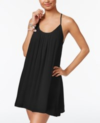 Roxy Juniors' Strappy Back Shift Dress Anthracite