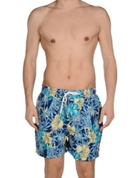 Franklin And Marshall Swimming Trunks Slate Blue