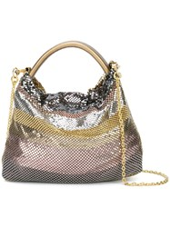Laura B Mini Rocky Bag Pink And Purple